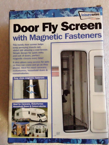 Leisurewize Door Fly Screen with Magnetic Fasteners